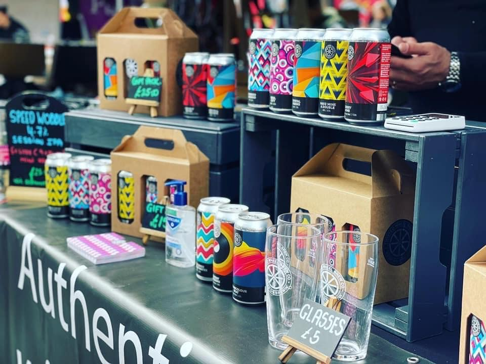 Southport Makers Market takes place outside Southport Market on the first Sunday of every month