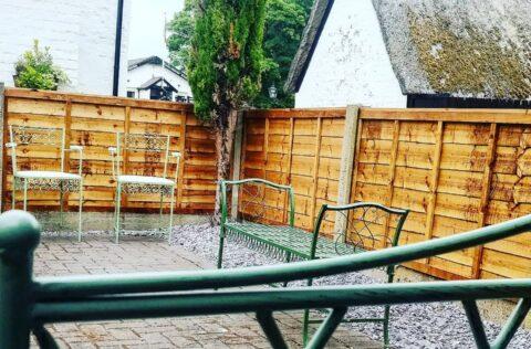 Southport shop creates secret courtyard garden for chocolate lovers