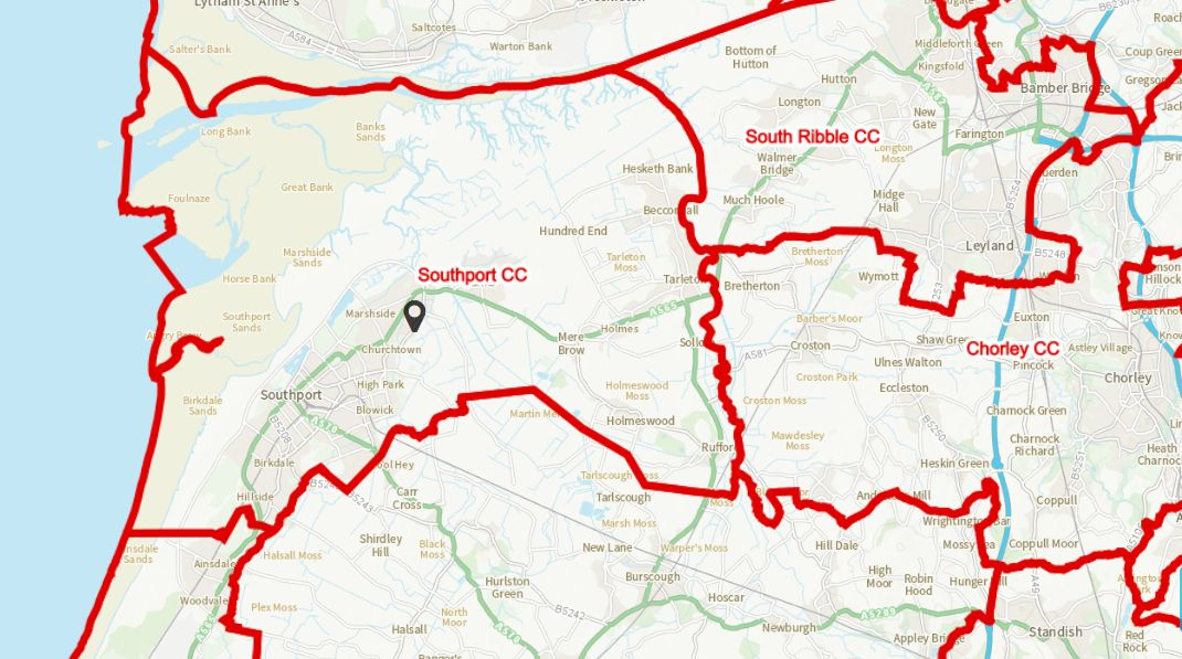 Proposals to change the Southport constituency by the Boundary Commission have been published. People have until 2nd August 2021 to give their views