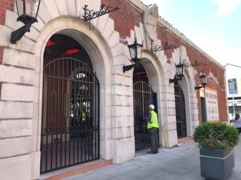 Impressive new wrought iron steelwork unveiled at new look Southport Market