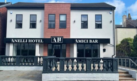 Stylish new hotel and bar with glorious sun terrace opens in Southport town centre