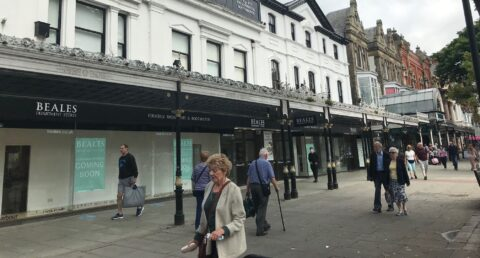 New look Beales department store in Southport to reopen this August