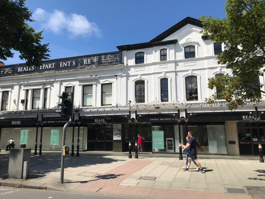 Beales department store in Southport. Photo by Andrew Brown Media