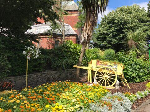 Botanic Gardens volunteers deserve HUGE applause for ten years of toil as sunnier days near