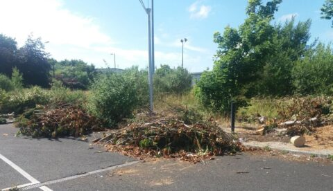 Tonnes of garden waste flytipped in Southport as prosecution warning issued to residents