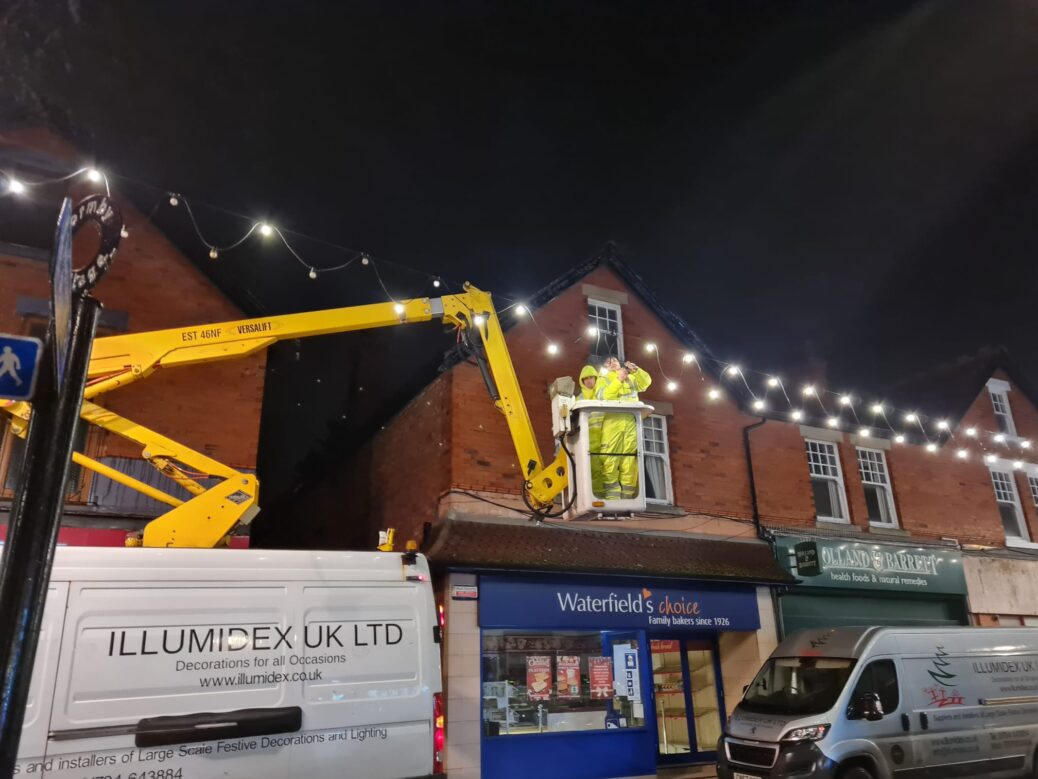 IllumiDex UK L;td has won the contract to install Christmas decorations in Formby