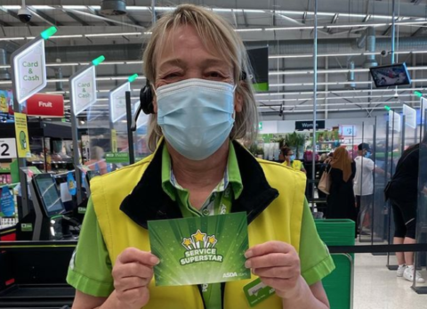 Southport Asda employee Noreen wins national acclaim for her 'friendly manner and helpfulness'