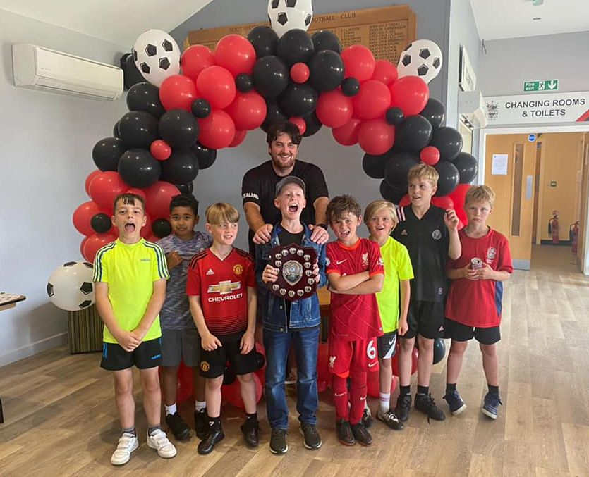 The first ever Southport Athletic Junior Football Club presentation, at Southport Rugby Football Club