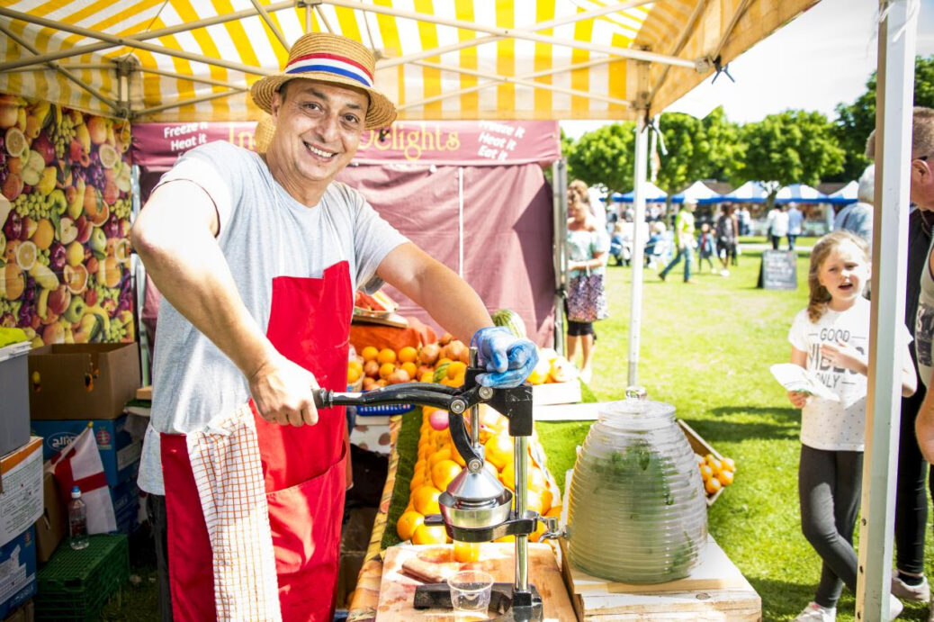 Southport Food and Drink Festival. Photo by Sefton Council