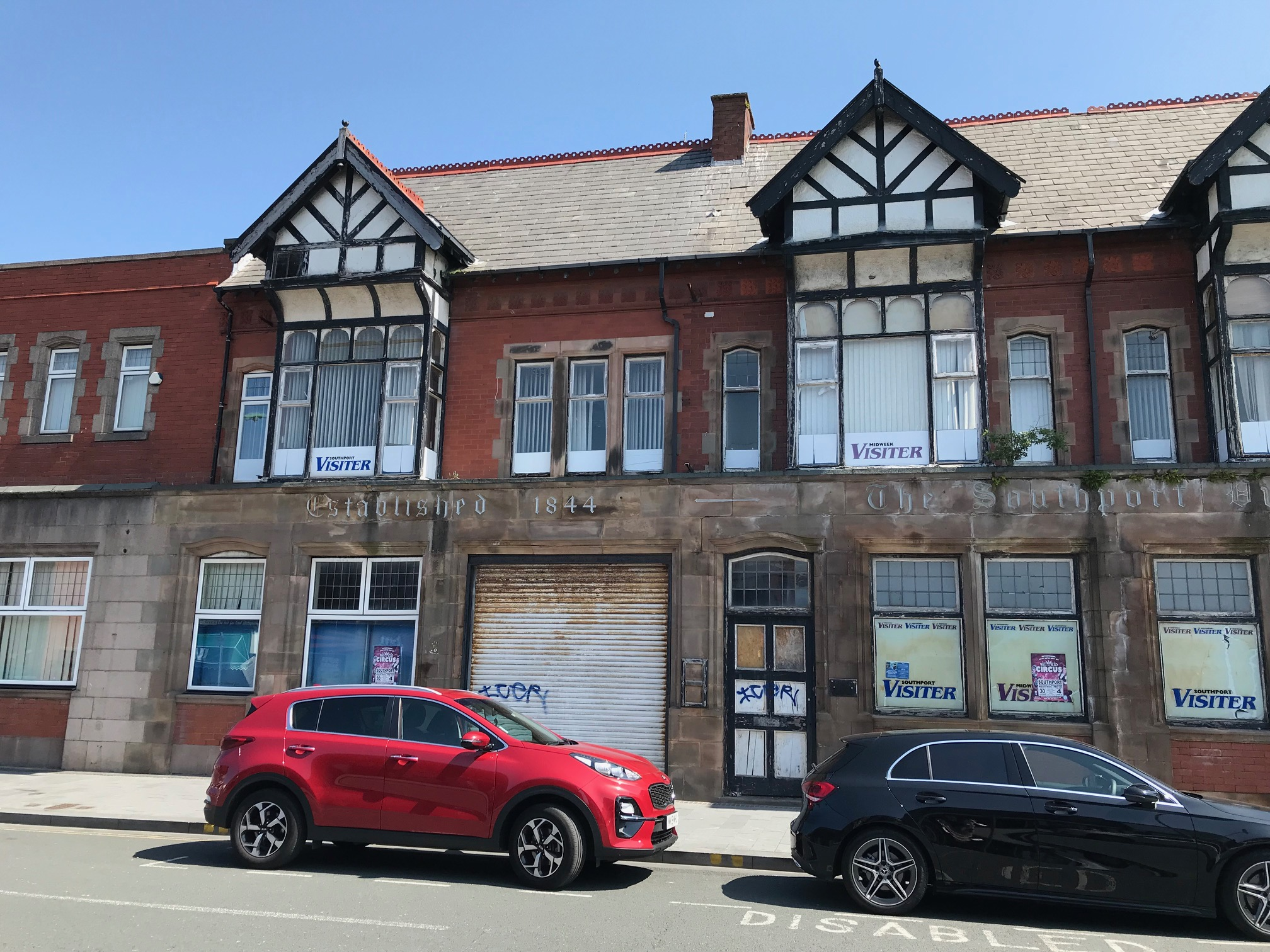 The Southport Visiter office on Tulketh Street in Southport. Photo by Andrew Brown Media