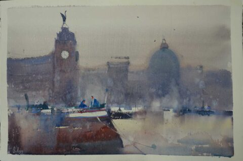 Acclaimed watercolour artist Steve Rigby to unveil new exhibition at The ArtHouse in Southport