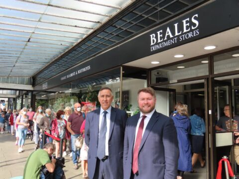Opening of 'iconic' Beales store is 'fantastic news for Southport' says MP