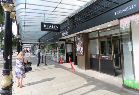 New perfume shop and cafe due to open inside Beales in Southport as store 'exceeds expectations'