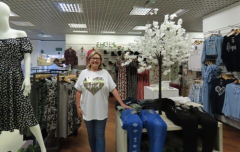 Lucy Lou's Boutique celebrates opening new outlet in Beales department store in Southport