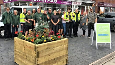 Ambition to create 'village feel' for Bispham Road in Southport take step forward with new planters