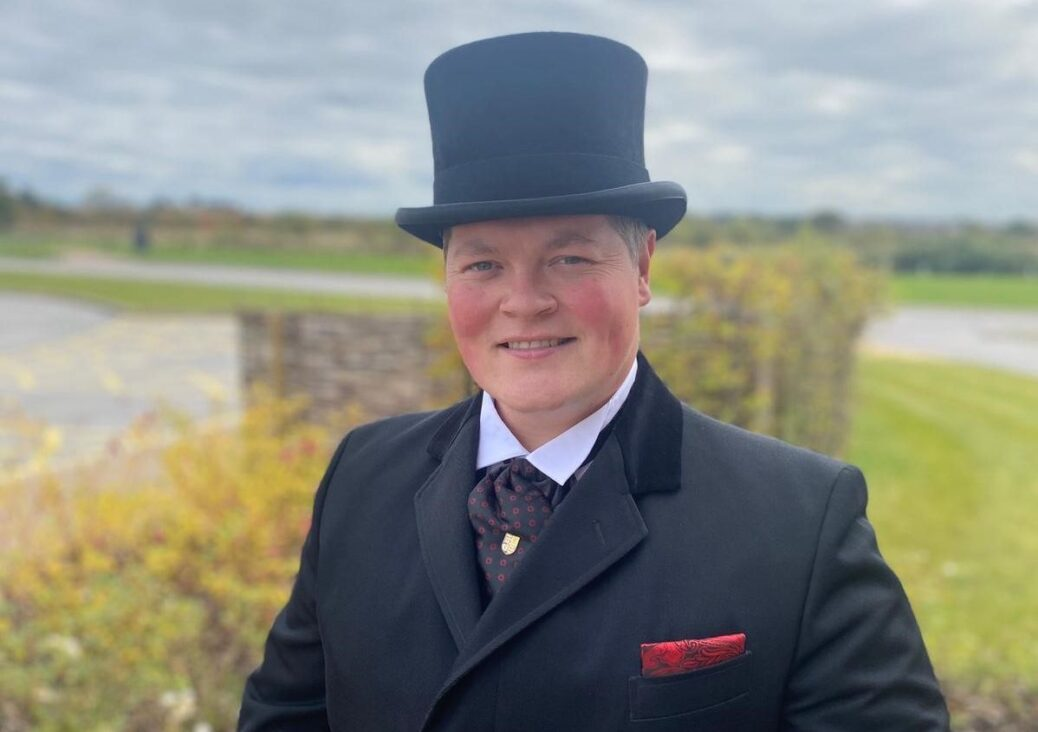 David Massam, owner of Massam and Marshall Independent Funeral Directors in Parbold and Southport
