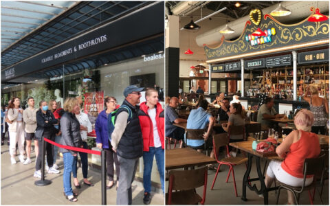 Visitors to Southport rise by 16.6% as new Beales, new Southport Market and new lights pull in the crowds