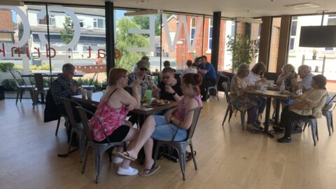 Southport's Friendship Cafe reopens with a warm welcome for those alone during weekends