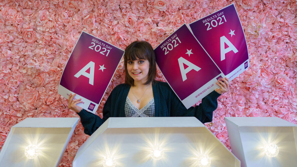 Olivia Hersey, who achieved 3 A*s and is now off to Oxford University