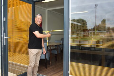 Liam Watson unveils Southport FC Fanzone with superb new facility provided by Trust In Yellow