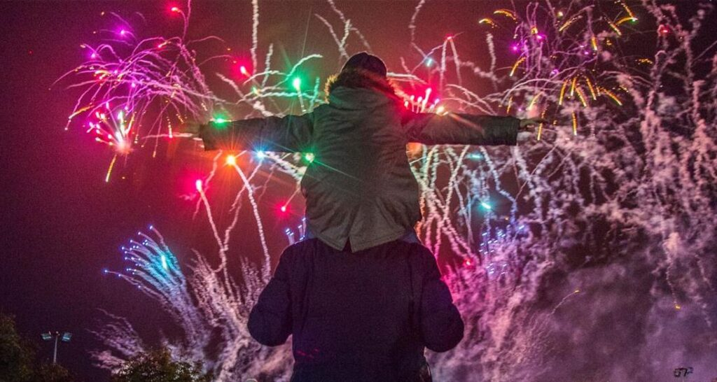 The British Musical Fireworks Championship in Southport