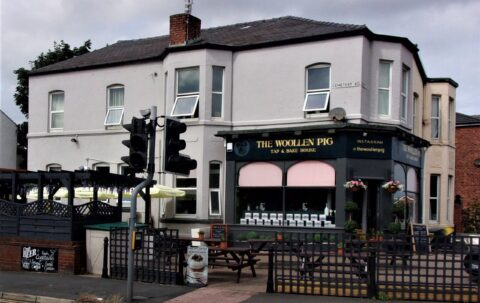 The Woollen Pig in Southport is a unique experience with a bar and a deli in one
