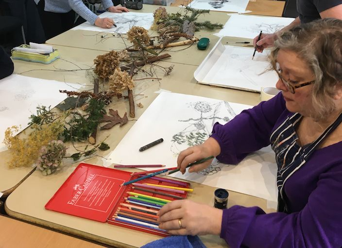 Southport Contemporary Arts is valued for its delivery of wellbeing at community level for all Sefton based artists through its extensive portfolio of drop-in classes