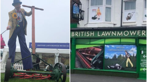 The world's BIGGEST lawnmower is wowing visitors at popular Southport attraction