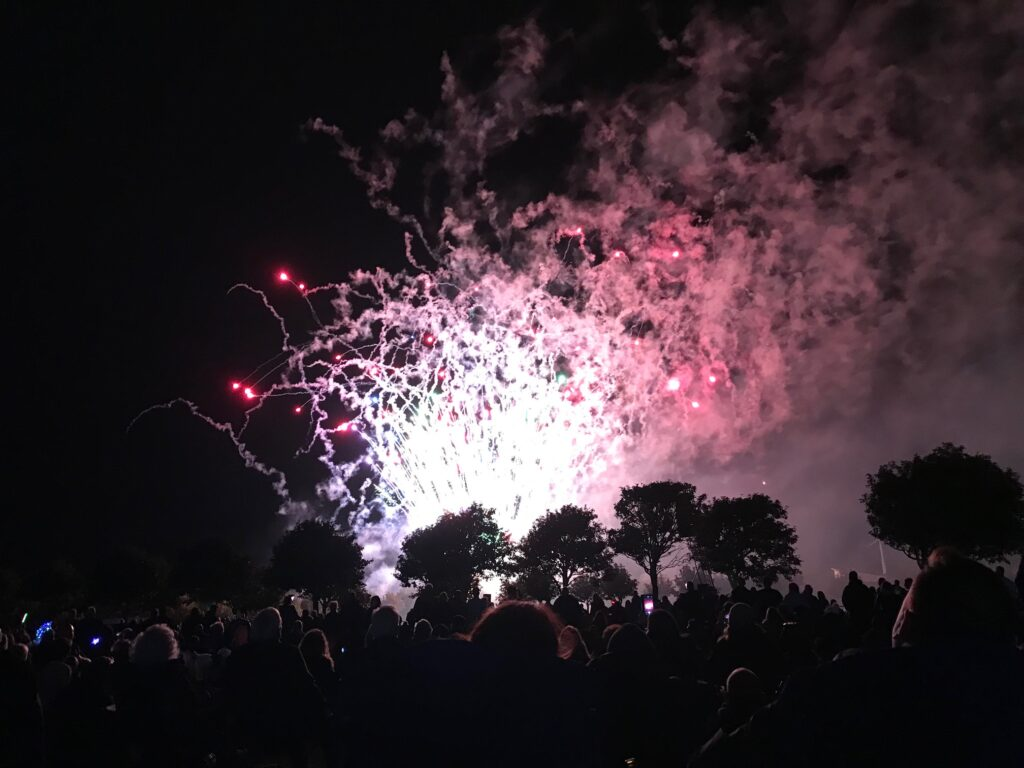 The British Musical Fireworks Championship in Southport. Photo by Andrew Brown Media