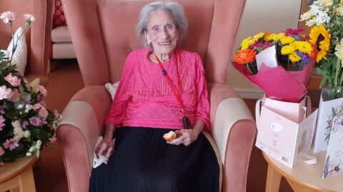 Southport lady who's 'lived a life full of sunshine' celebrates her 102nd birthday