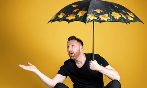 Comedian Jason Byrne brings new Audience Precipitation tour to Southport Comedy Festival 2021