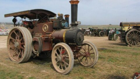 Vintage machines roll in for Festival of Fantastic Machines at Southport Pleasureland