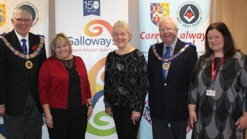Galloway's reduces social isolation among visually impaired people in pandemic thanks West Lancashire Freemasons