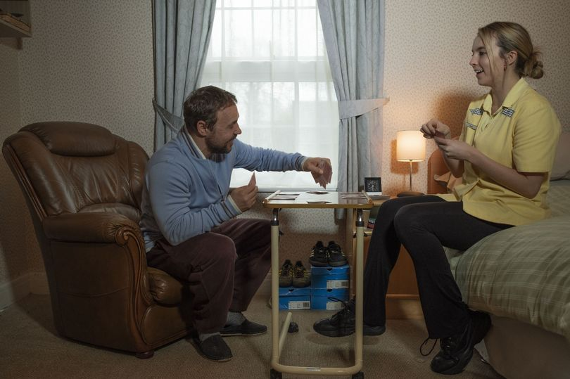 Stephen Graham and Jodie Comer are reuniting in Channel 4 drama, Help. Photo by Channel 4