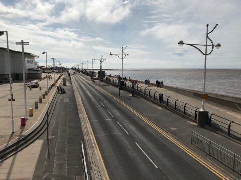 Marine Drive in Southport remains closed to traffic a week after lorry collided with pier