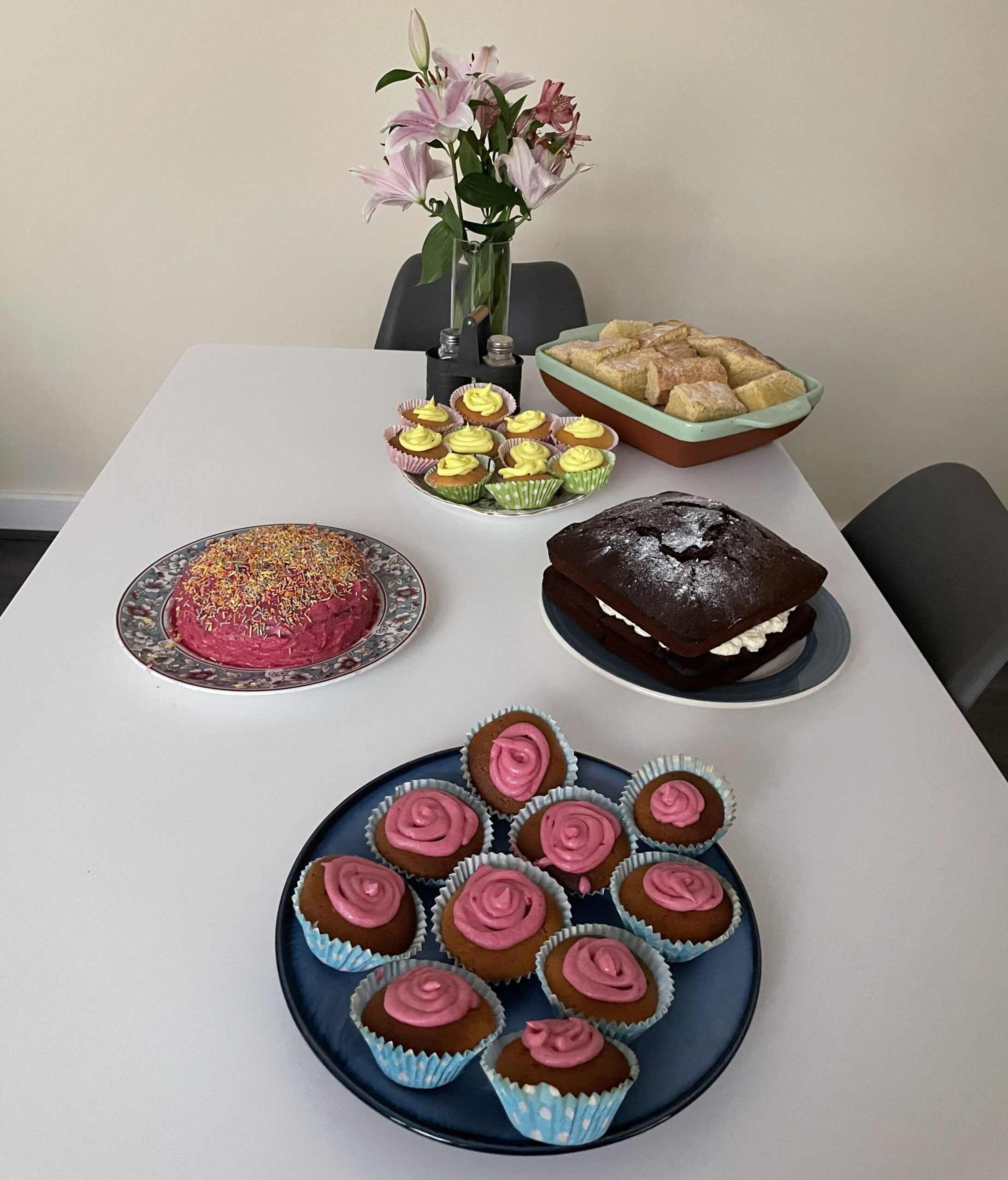 Cakes at New Start in Southport