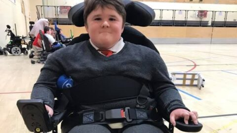 Appeal launched to support talented teenager who loves powerchair football