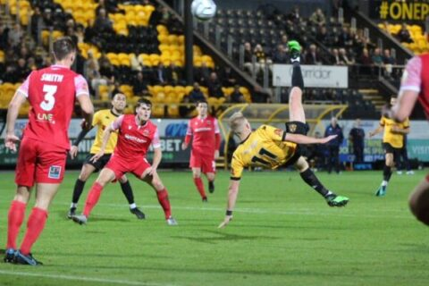 Southport FC wonder goal against Chorley earns FA Cup progress