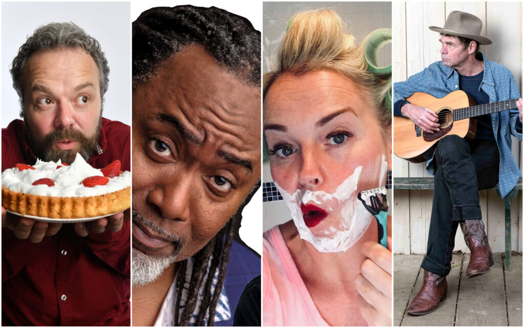 Some of the stars appearing at Southport Comedy Festival