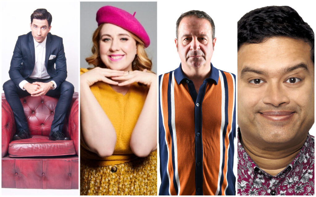 Southport Comedy Festival will feature top comedians including: Russell Kane, Helen Bauer, Mark Thomas and Paul Sinha
