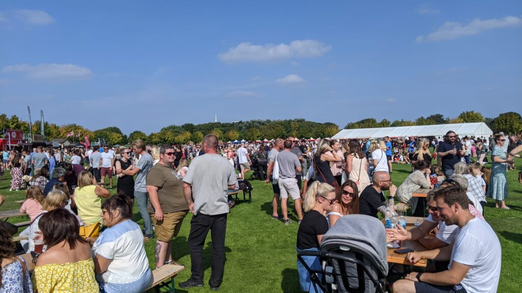Southport Food and Drink Festival. Photo by Stephen Richmond