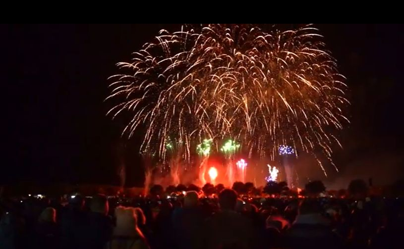 The British Musical Fireworks in Southport