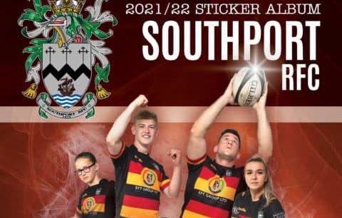 Southport Rugby Club is launching an official club sticker book to celebrate 150 years of rugby at the club