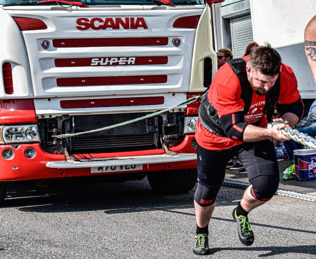 Southport's Strongest Novice and Inters strongman competition took place at CTC Fitness in Southport. Photo by Stuart Scott