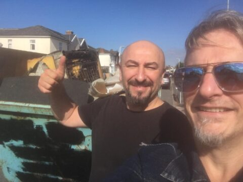 Skip scheme to help community clear soggy settees and mouldy mattresses hailed a success
