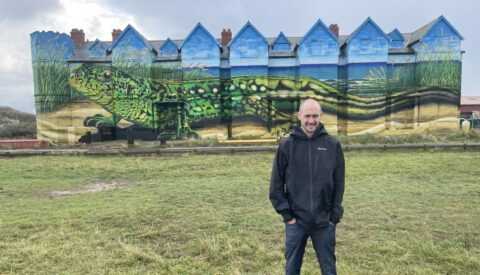 'Magnificent' Toad Hall mural in Southport now complete after 330 litres of paint and 42 spray paint cans