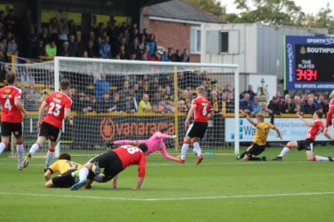Southport FC knocked out of FA Cup in 3-2 thriller with Altrincham