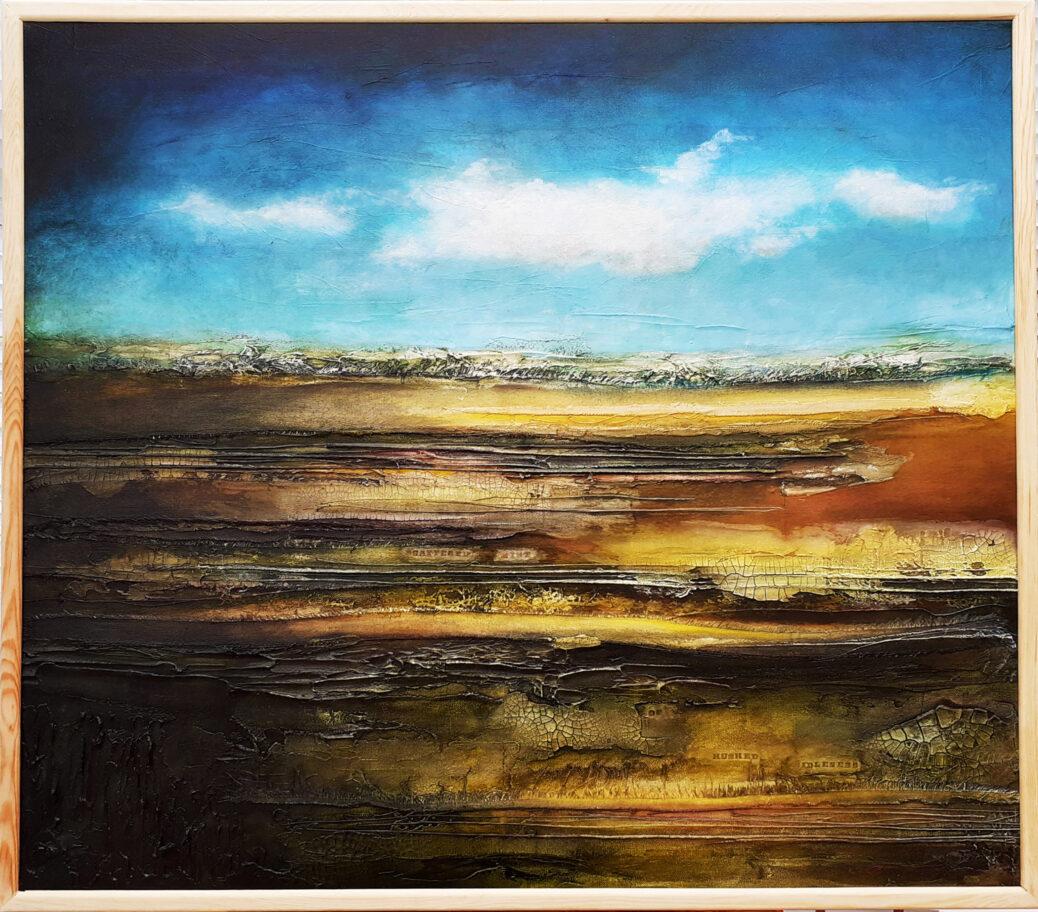 Sharon Barnes 'Nickel Yellow Morning'