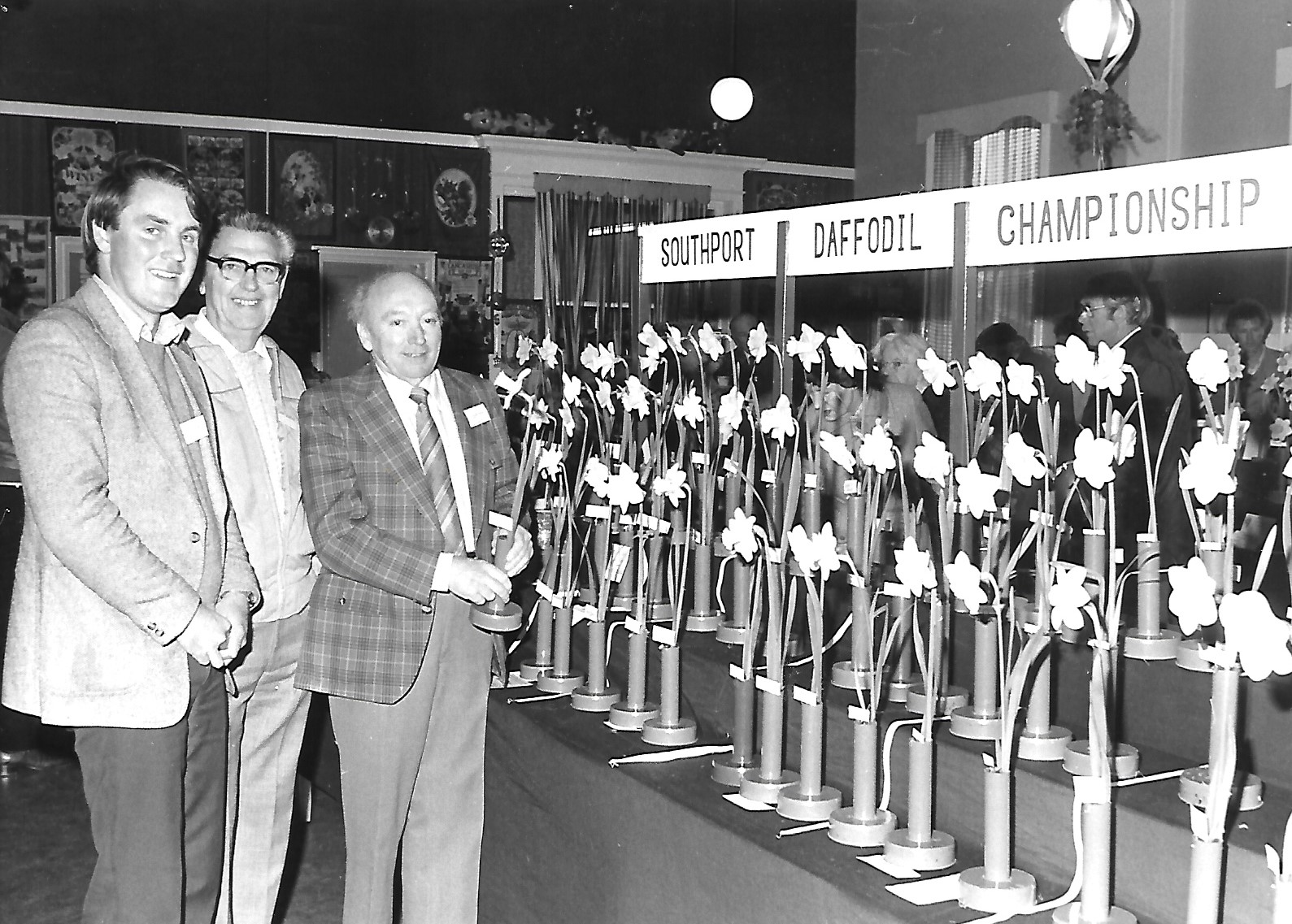 The Southport Daffodil Championship at the Southport Chrysanthemum Society show in Southport in 1983