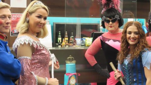 Cinderella launch sees Southport cake maker produce special order for Claire Sweeney and cast
